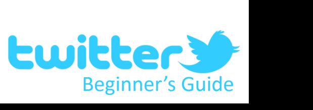 A Beginners Twitter Guide