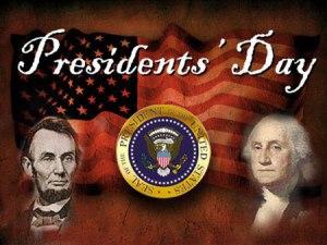 Presidents Day 2016